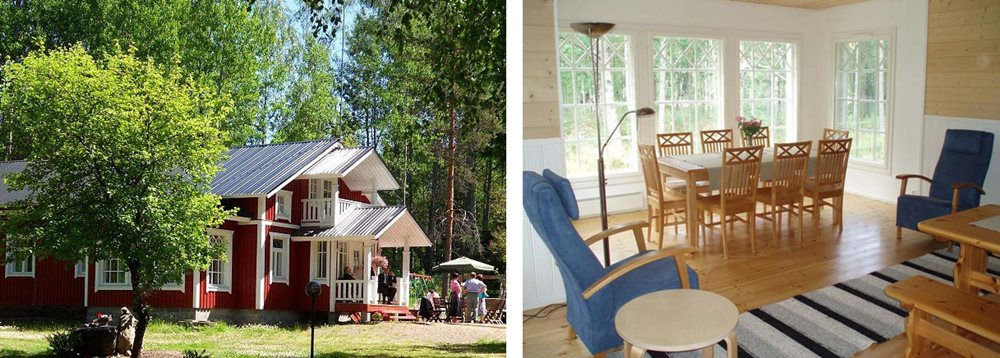Коттедж морошка в аренду в финляндии