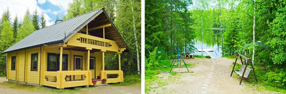 Коттедж БРУСНИКА в аренду в финляндии