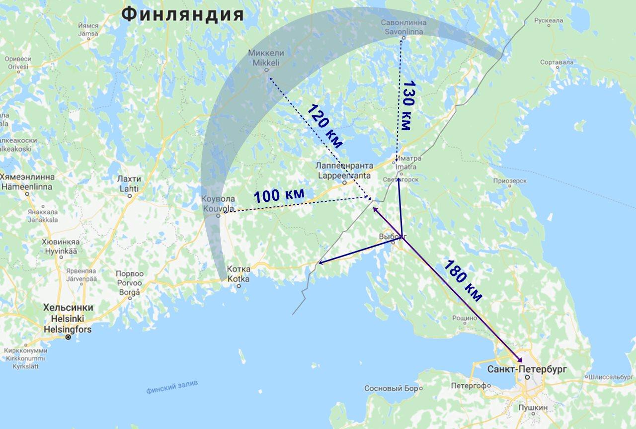 Коттеджи в Финляндии у границы