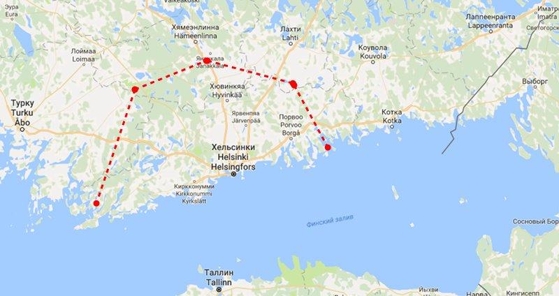 Коттеджи в Финляндии рядом с Хельсинки