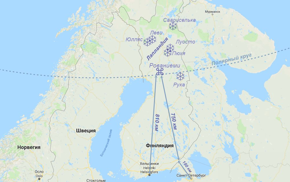 Коттеджи в Лапландии