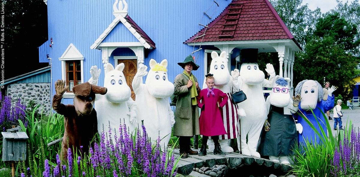 Moomins holidays Finland