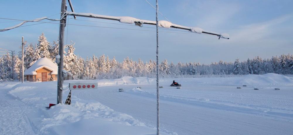 Картинг на льду Финляндия