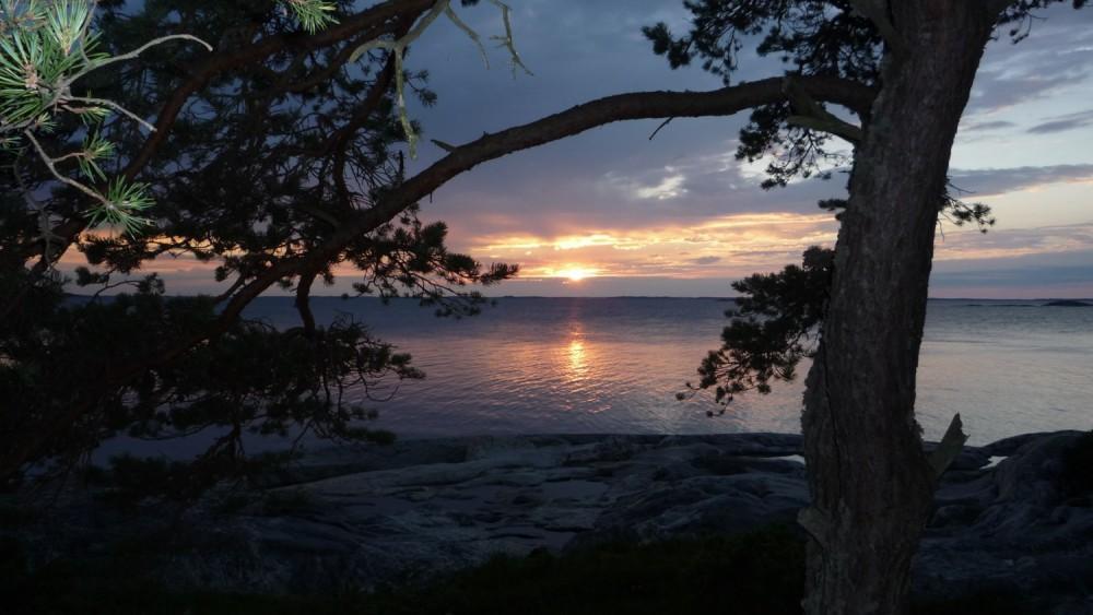 Архипелаг Турку фото закат