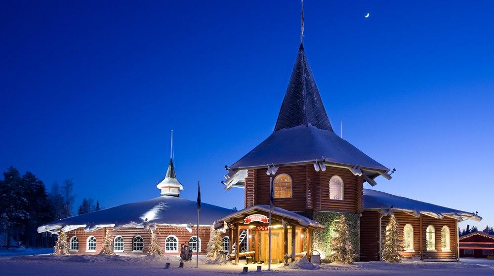 Дом Рождества Санты Рованиеми
