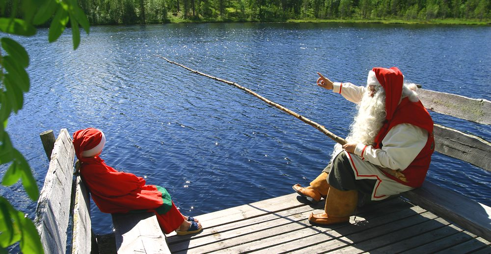 Деревня Санты Финляндия, Лапландия