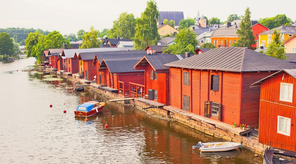 Рыбацкие города Финляндии