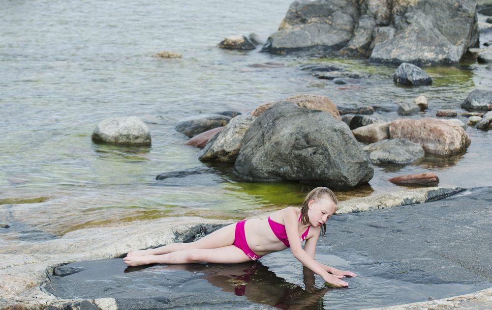 Каменные пляжи Финляндии