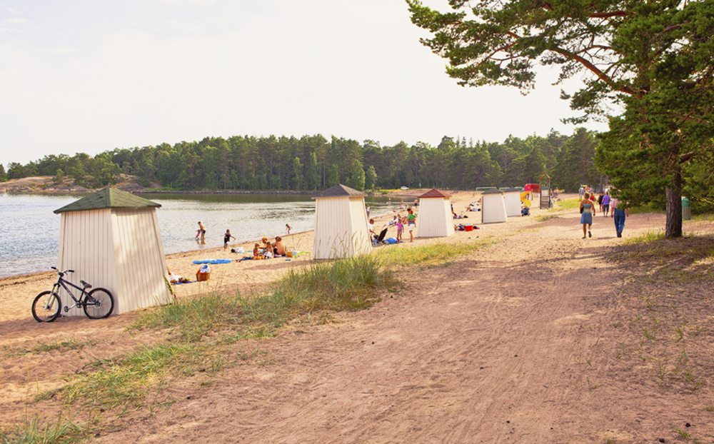 Sand beaches in Finland