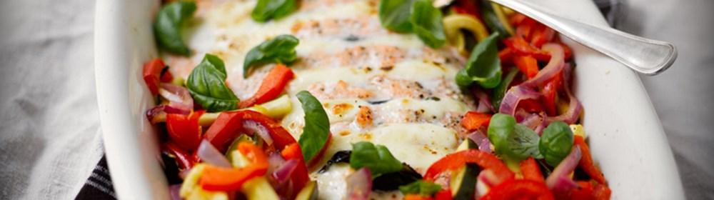 рецепт запеченый лосось с сыром