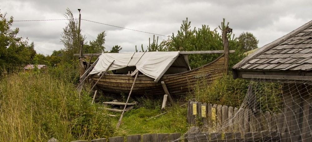 Корабль викингов Росала